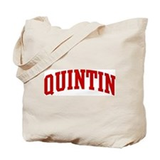 QUINTIN (red) Tote Bag