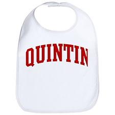QUINTIN (red) Bib