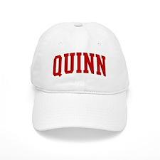 QUINN (red) Baseball Cap
