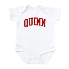 QUINN (red) Infant Bodysuit