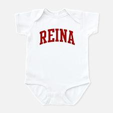 REINA (red) Infant Bodysuit