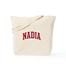 NADIA (red) Tote Bag