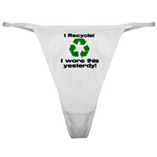 I Recycle Classic Thong