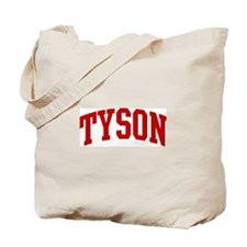 TYSON (red) Tote Bag