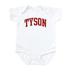TYSON (red) Infant Bodysuit