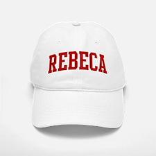 REBECA (red) Baseball Baseball Cap