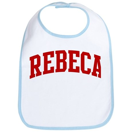 REBECA (red) Bib