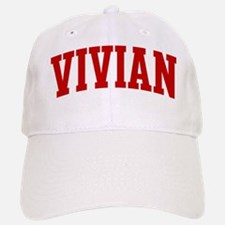 VIVIAN (red) Baseball Baseball Cap