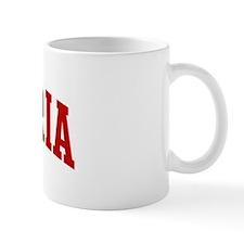 VICTORIA (red) Mug