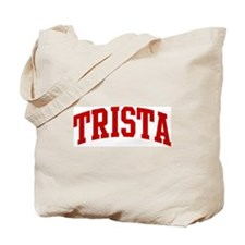 TRISTA (red) Tote Bag