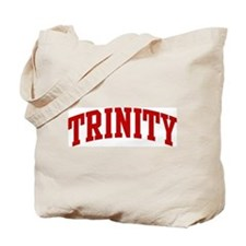 TRINITY (red) Tote Bag