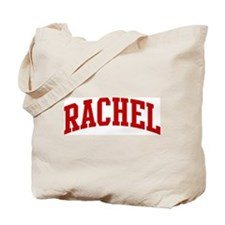 RACHEL (red) Tote Bag