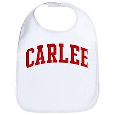 CARLEE (red) Bib