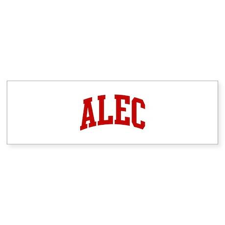 ALEC (red) Bumper Sticker