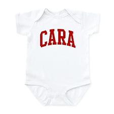 CARA (red) Infant Bodysuit