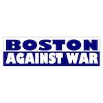 Boston Against War (bumper sticker)