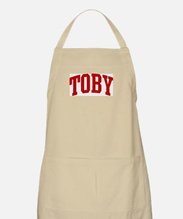 TOBY (red) BBQ Apron