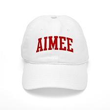 AIMEE (red) Baseball Cap