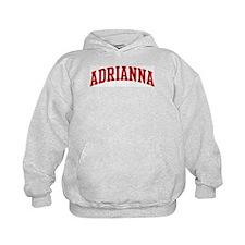 ADRIANNA (red) Hoodie