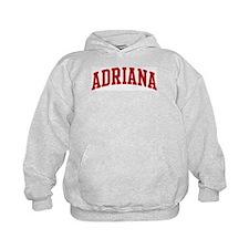 ADRIANA (red) Hoodie