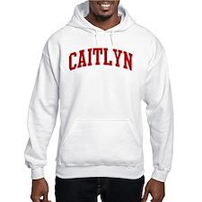 CAITLYN (red) Jumper Hoody