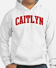 CAITLYN (red) Jumper Hoody