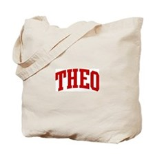THEO (red) Tote Bag