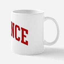 TERRENCE (red) Mug