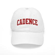 CADENCE (red) Baseball Cap