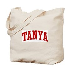 TANYA (red) Tote Bag