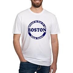 Boston: Blue Town Shirt