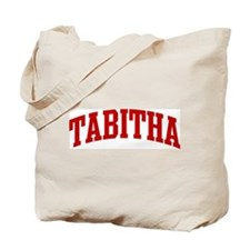 TABITHA (red) Tote Bag