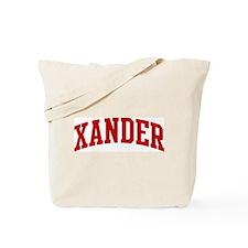 XANDER (red) Tote Bag