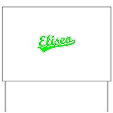 Retro Eliseo (Green) Yard Sign