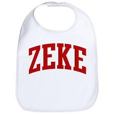 ZEKE (red) Bib