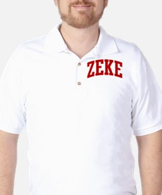 ZEKE (red) Golf Shirt