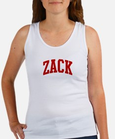 ZACK (red) Women's Tank Top