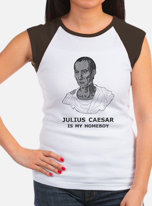 Julius Caesar Is My Homeboy Women's Cap Sleeve T-S