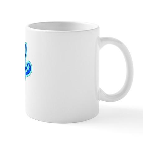 Retro Yusuf (Blue) Mug