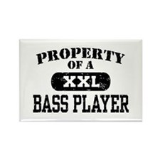 Property of a Bass Player Rectangle Magnet