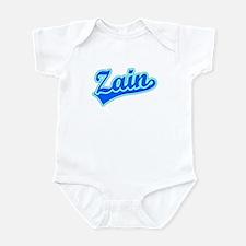 Retro Zain (Blue) Infant Bodysuit