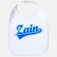 Retro Zain (Blue) Bib