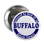 Buffalo: Blue Town Button