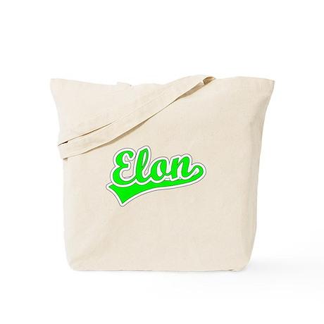 Retro Elon (Green) Tote Bag
