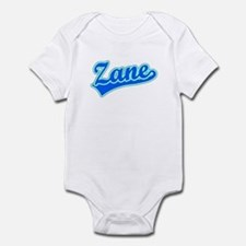 Retro Zane (Blue) Infant Bodysuit