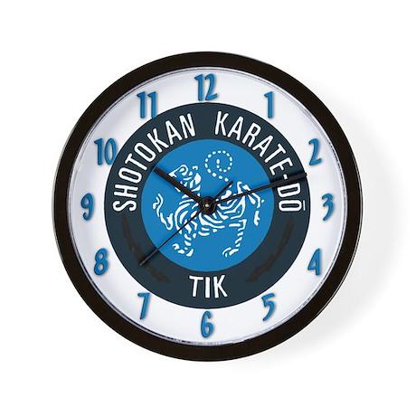 Tik Karate Wall Clock
