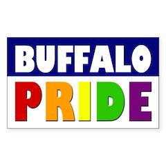 Buffalo Pride (bumper sticker)