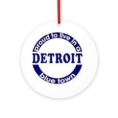 Detroit: Blue Town Keepsake (Round)