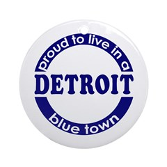 Detroit: Blue Town Keepsake (Round)