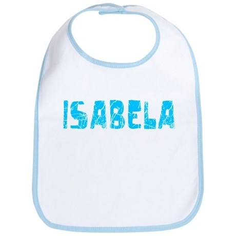 Isabela Faded (Blue) Bib